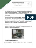 1. Manual de Operación de La Mufla