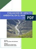 Evaluación de Impactos Ambientales Aplicado Al Manejo de Cuencas