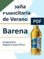 CAMPAÑA BARENA