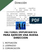 Ing. Rita Diapositiva de Direcion