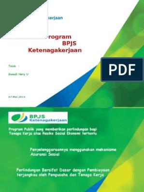 Bpjs Ketenagakerjaan Powerpoint Template