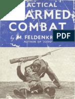 Feldenkrais Moshe - Practical Unarmed Combat