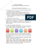 Ingeniera de metodos y procesos  Resumen cap 1