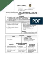 Plan de Área - Filosofía - Primer Período - 2015