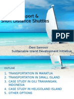 Inland Transportation of Maratua Island