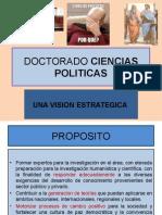 DOCTORADO CIENCIAS POLITICAS
