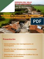 Diagnostico Problemas ambientales Corregimiento el Hormiguero Cali