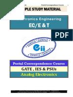 Analog Electronics Sample