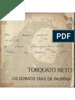 Torquato Neto - Os Últimos Dias de Paupéria