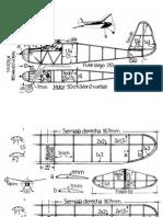 Planos Aviones en balsa