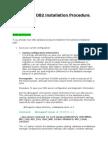 DB2 Installation Procedure for 9.5 FP7