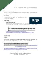 Eficacia del tratamiento con validamicina frente a candida albicans en pacientes del H.R.D.T