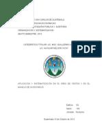 Trabajo Sistematizacion Ventas e Inventarios