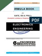 Electronics Engg Formula Book