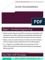 OOP 8 - Object-Oriented Programming Principles