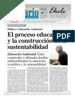 Galano El Proceso Educativo y La Construcción de La Sustentabilidad