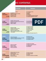 Tableau Des Contenus CA 1