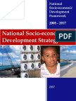 National Socio Economic Development Strategy