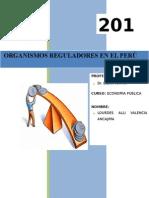 organismos reguladores