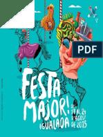 Programa Festa Major Igualada 2015