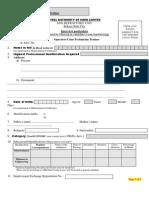SRU Biodata-Format OCTT