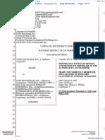 Veoh Networks, Inc. v. UMG Recordings, Inc. et al - Document No. 13