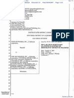 Veoh Networks, Inc. v. UMG Recordings, Inc. et al - Document No. 14