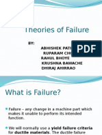 Theories of Failure Final