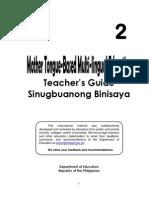 Teaching Guide Mtb-mle Grade2