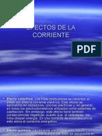 EFECTOS DE LA CORRIENTE.ppt