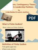 edu501 finite godism linda and lucy
