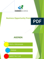 Business Opportunity Preview - Felicia MEI 2015