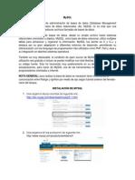 Creacion de Base de Datos Con MySQL (1)