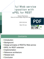 RESTful Web Service Composition With BPEL for REST