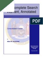 SearchWarrant Manual