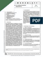 VDG Merkblatt N 041 0 - Schweißen von Gußeisenwerkstoffen