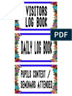 Pupils Contest, Daily Log