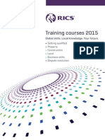 RICS Training Courses