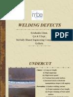Welding Defects