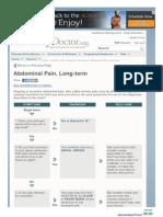 65 Http Familydoctor Org Familydoctor en Health Tools Search by Symptom Abdominal Pain Long Term HTML