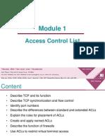 Module 5 ACLs