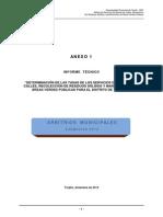 Informe Técnico Arbitrios. RESIDUOS SOLIDOS. SALUD