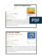 CATALOGO Biblioteca Juan Leiva. Proyecto integrado 1º bachillerato