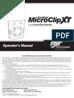 GasAlert Micro Clip XT Manual