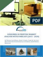 Consumer 3D Printing Market