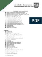 Lista de Materiales Turquesa 2010