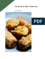Sarmale Vegane Facute in Slow Cooker Sau Cuptor.1