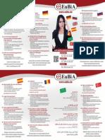 Flyer_Deutschkursflyer 6 Sprachen