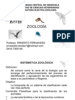 CLASE 02 SISTEMATICA ZOOLOGICA