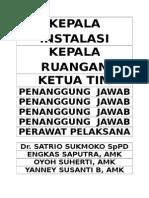 Struktur Organisasi Ruang Hd